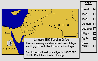 Thumbnail of other screenshot of Conflict - The Middle East Political Simulator