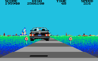 Screenshot of Crazy Cars