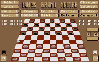 Screenshot of Dames Grand-Maitre