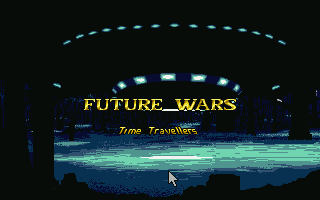 The game starts with an impressive intro sequence.