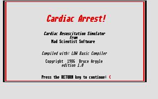 Thumbnail of other screenshot of Cardiac Arrest!
