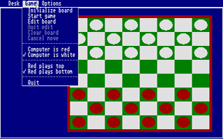 Screenshot of ST Checkers