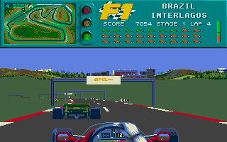 Screenshot of F1
