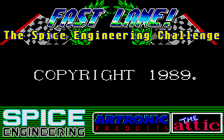 Screenshot of Fast Lane