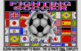 Screenshot of Fighting Soccer