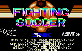 Screenshot of Fighting Soccer