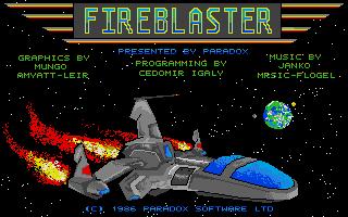 Screenshot of Fireblaster