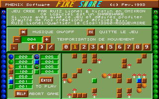 Screenshot of Fire Snare