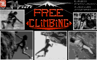 Screenshot of Free Climbing