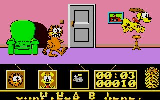 Screenshot of Garfield - Big, Fat, Hairy Deal