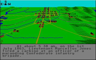 Screenshot of Gettysburg