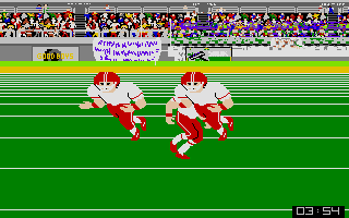 Screenshot of GFL Championship Football