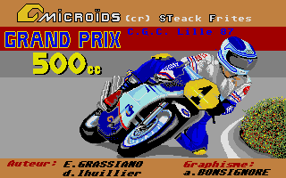 Screenshot of Grand Prix 500