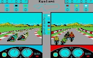 Screenshot of Grand Prix 500