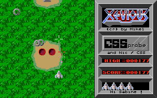 Thumbnail of other screenshot of Xevious