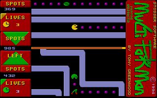 Screenshot of Multi Pakman