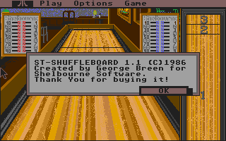 Screenshot of ST Shuffleboard