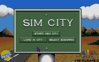Screenshot of Sim City
