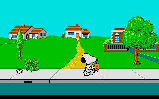 Screenshot of Snoopy and Peanuts