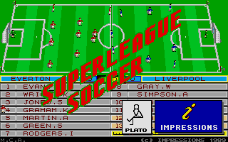 Screenshot of Superleague Soccer