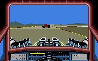 Screenshot of Stunt Car Racer