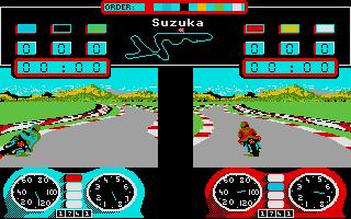 Screenshot of Superbike Challenge