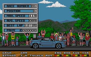 Screenshot of Super Cars