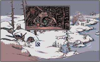 Screenshot of Quete de l'Oiseau du Temps, La