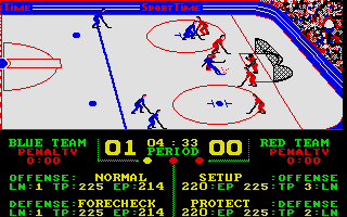 Thumbnail of other screenshot of Superstar Ice Hockey