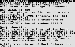 Screenshot of Hollywood Hijinx
