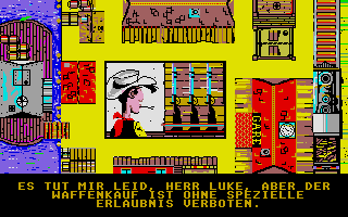 Screenshot of Lucky Luke - Nitroglycerine