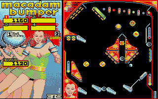 Screenshot of Macadam Bumper