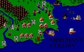Screenshot of Merchant Colony
