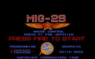 Screenshot of Mig 29 - Soviet Fighter