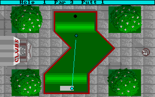 Screenshot of Mini Golf