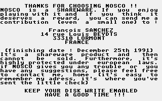 Thumbnail of other screenshot of Nosco