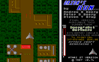 Thumbnail of other screenshot of Orion's run