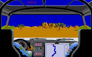 Thumbnail of other screenshot of Paris Dakar 1990