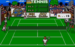 Screenshot of Pro Tennis Simulator