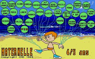 Screenshot of Maternelle 4/5 ans