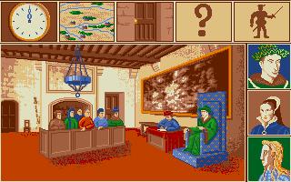 Screenshot of Intrigue a la Renaissance