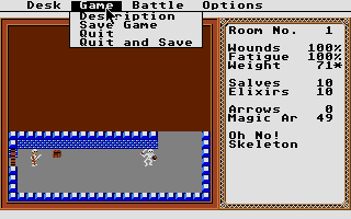Thumbnail of other screenshot of Temple of Apshai Trilogy, The