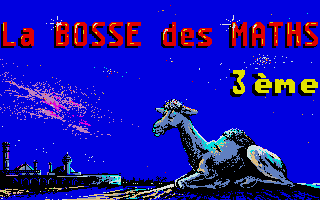 Thumbnail of other screenshot of Bosse des Maths 3eme, La