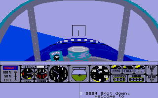 Screenshot of Air Warrior