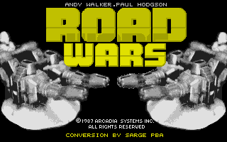 Thumbnail of other screenshot of Road Wars