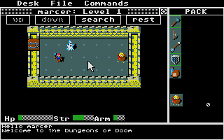 Thumbnail of other screenshot of Rogue II - Return To The Dungeon