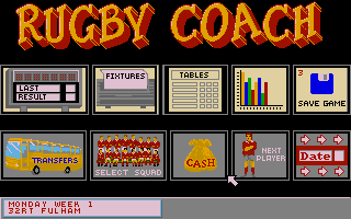 Thumbnail of other screenshot of Rugby Coach