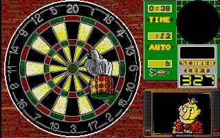 Screenshot of Wacky Darts