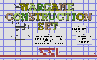 Screenshot of Wargame Construction Set