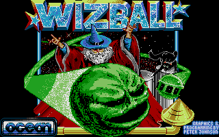 Screenshot of Wizball